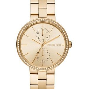 Michael Kors Women's Gold-Tone Garner Watch